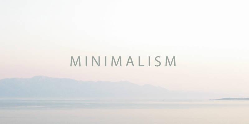 What is minimalist lifestyle